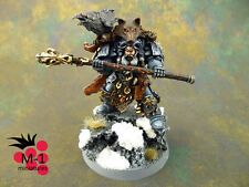 Warhammer 40k Space Wolves Njal Stormcaller M-1 pro-painted