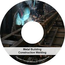 Learn About Metal Construction Arc Welding Welder How To Weld PDF Manuals on CD