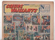 COEURS VAILLANTS 1942 n°50. Hergé. Tintin Le crabe aux Pinces d'Or.