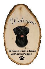 Outdoor Welcome Sign (Tb) - Black Puggle 51280