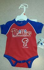 MLB Philadelphia Phillies Infant 2 piece short set-Size 12 months