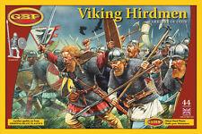 Gripping Beast -Viking Hirdmen 44 Hard Plastic Figures 28mm Scale GPB01