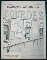L'Assiette au Beurre #22 Lourdes France Pilgrims 1901 French Satire Art Magazine