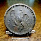Civil War Era Recovered Brass Eagle Breast Plate