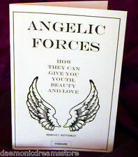 ANGELIC FORCES  Finbarr Occult  Magick Grimoire.Marcus T. Bottomley. Angel