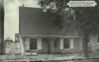 New Castle Delaware Little Dutch House 1930s Postcard