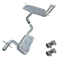 Resonator Pipe Muffler Exhaust System Kit fits: 2007-2009 VW EOS 2.0L