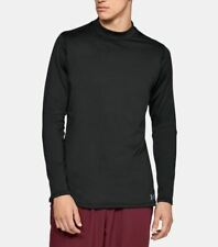 Men's Under Armour ColdGear Armour Fitted Mock Long Sleeve Shirt - 1320805-001