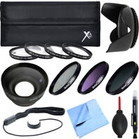 Xit Pro UV CPL FLD Lens 58mm Filter + Close-Up Macro Ultimate Accessory Kit