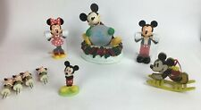 Walt Disney Mickey Minnie Mouse Figurines Ornament Frames Etc Lot