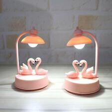 Kids Bedroom NIGHT LIGHT TABLE LAMP FLAMINGO LED LIGHT FREESTANDING Decor