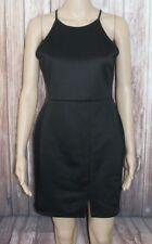 "MISSGUIDED black dress lovely detail size 12  length 32""  miss 510"