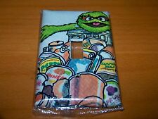 SESAME STREET OSCAR THE GROUCH LIGHT SWITCH PLATE