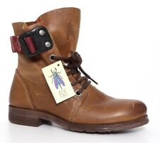 Fly London Stay Leather Boot Brown Women Sz 36 EUR 6602