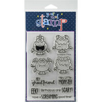 """""""Your Next Stamp Clear Stamps 4""""""""X6""""""""-Silly Monsters 2"""""""