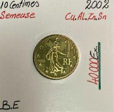 Pièces euro de la France Année 2002 10 Cent