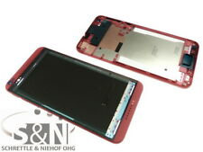 Original HTC Desire 816 Front Gehäuse Cover f. Display Kleber Rand, pink