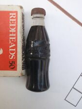 Coca Cola Bottle Shaped Cigarette lighter   brass  &  plastic