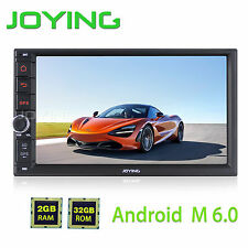 Joying 7'' Double 2din 2GB RAM 32GB ROM BT PIP GPS Navigation Touch Screen USB