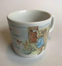 Wedgwood Beatrix Potter (Frederick Warne) Peter Rabbit Happy Birthday Mug - Nib