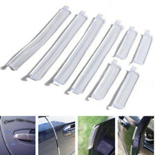 8Pcs Universal Car Door Edge Guard Trim Mold Protection Strip Scratch Protector