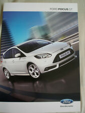 Ford Focus ST brochure Feb 2012 Swiss market German text