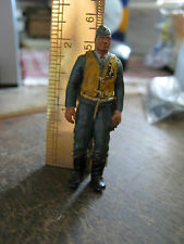 1/32 Painted Lead WWII German Airman, Flying Ace Hauptman Werner Molders? LQQK!