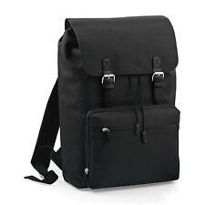 """Vintage Laptop Backpack Rucksack Business Work Travel Bag Fits Up To 17"""" Laptops"""
