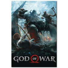 God of War Poster -  PS4 Exclusive 2018 - High Quality Prints