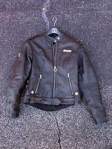 Icon Hella Leather Womens Jacket Black M