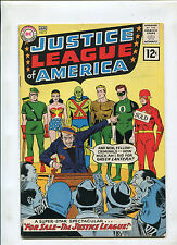 JUSTICE LEAGUE OF AMERICA #8 (7.0) FOR SALE-- THE JUSTICE LEAGUE! 1961