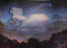Ernst Fuchs - Sphinx