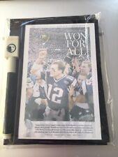 Tom Brady Dry Erase Magnetic Refrigerator Message Board Home Set Rare