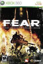 FEAR Xbox 360 New Xbox 360