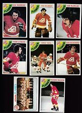 1978 Topps Team SET Lot of 8 Atlanta FLAMES NM/MT LYSIAK VAIL REDMOND BOUCHARD