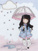 BOTHY THREADS XG1 Puddles of Love Gorjuss Embroidery counted