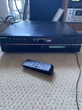 New listing Sony Scd-Ce595 5 Disc Carousel Cd Player Changer Super Audio With remote- tested