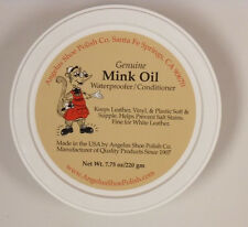 Angelus Mink Oil Paste Leather Waterproof & Conditioner 7.75 oz. Boots Shoes