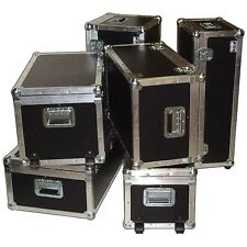 "Supplies & Accessories ATA Trunk Case w/Dolly Wheels - ID 28"" x 16"" x 15"""