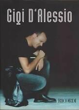 Gigi D'Alessio SPARTITO Testi e Accordi per Pianoforte Nuovo 9790215106611
