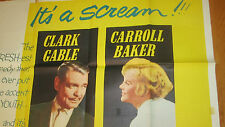 BUT NOT FOR ME  Rare 3 Huge 3 Sheet poster  1959 CLARK GABLE