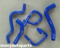 100% Brand New  Ford Falcon BA BF XR6 Turbo Silicone Radiator Hose Kit BLUE