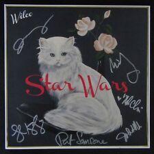 "Wilco Autographed ""Star Wars"" Album Signed Jeff Tweedy +5 COA"