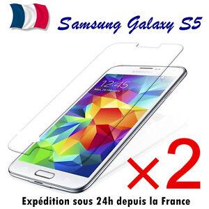 Lot-2 Schutzglas Hartglas Bildschirmschutz Samsung Galaxy S5