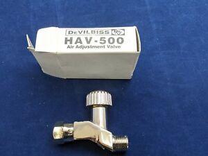Devilbiss / Binks HAV-500 Air Adjustment Valve Cheater Valve For Paint Spray...