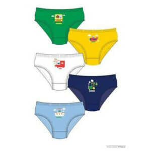 BOYS  PACK OF 5 BRIEFS - HEY DUGGE (TRANSPORT)!