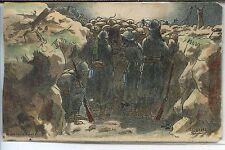 CP Militaria - Guerre 14-18 - Le Poste d'écoute - Ill. Gabard - 1919
