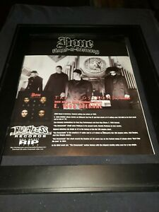 Bone Thugs N Harmony Crossroads Rare Original Promo Poster Ad Framed!
