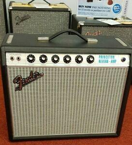 Fender Princeton reverb 68 custom amp with cover