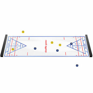 Shuffleboard Game Table Top Families Children Parents Sports Game Party Gift